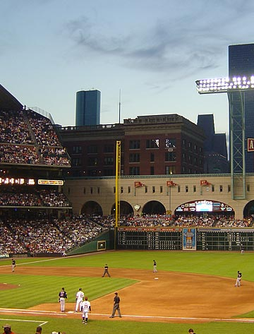 Minute Maid Park Houston Acquisition and Disposition